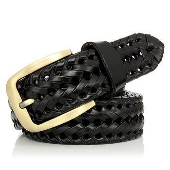 Pin Buckle Woven Knitted Quality Belt