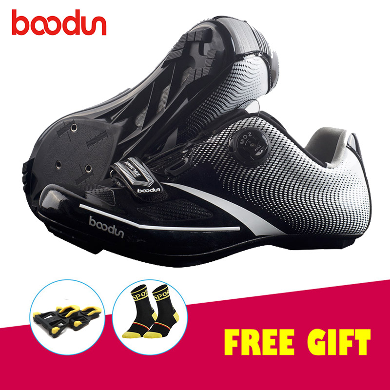 Boodun road bike shoes zapatillas ciclismo Self-Locking Road Cycling Shoes Ultralight Athletic Bicycle scarpe ciclismo stradaBoodun road bike shoes zapatillas ciclismo Self-Locking Road Cycling Shoes Ultralight Athletic Bicycle scarpe ciclismo strada