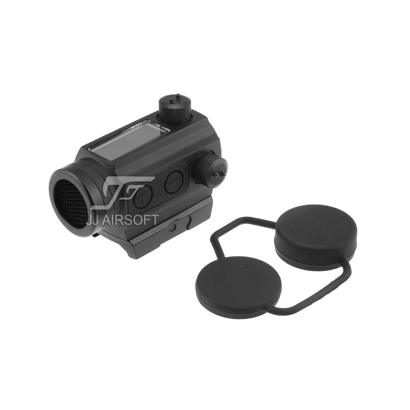 TARGET 1x24 Solar Power Red Dot With Low Mount And Killflash / Kill Flash (Black) HS403C IPSC