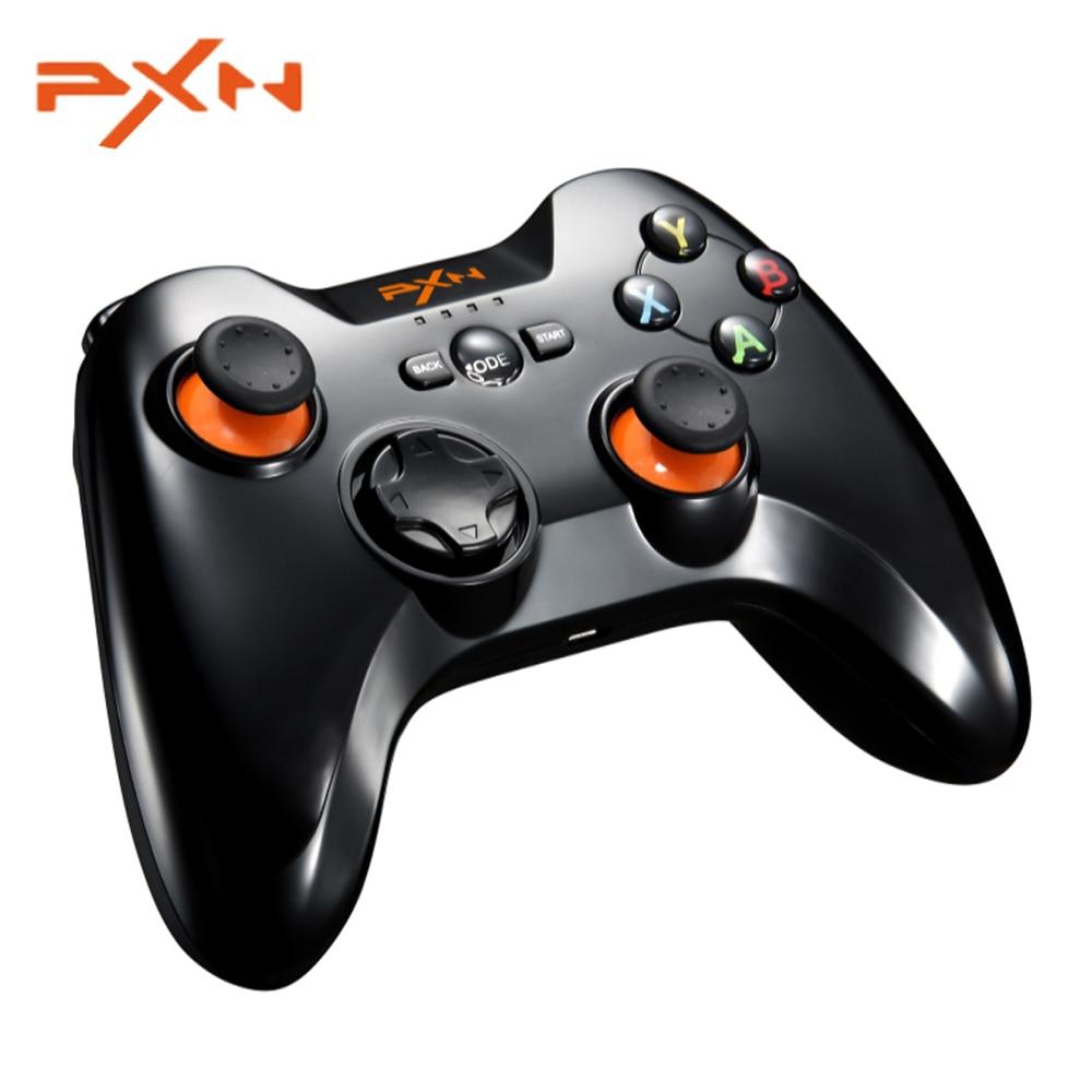 PXN 9613 sans fil Bluetooth Gamepad pour PC tablette Android Smartphone TV contrôleur de jeu Support X/Dinput Portable poignée Support