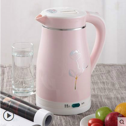 Electric kettle household insulation integrated mini quick pot automatic power cut 304 stainless steel electric heating kettle household 304 stainless steel automatic power off the quick pot