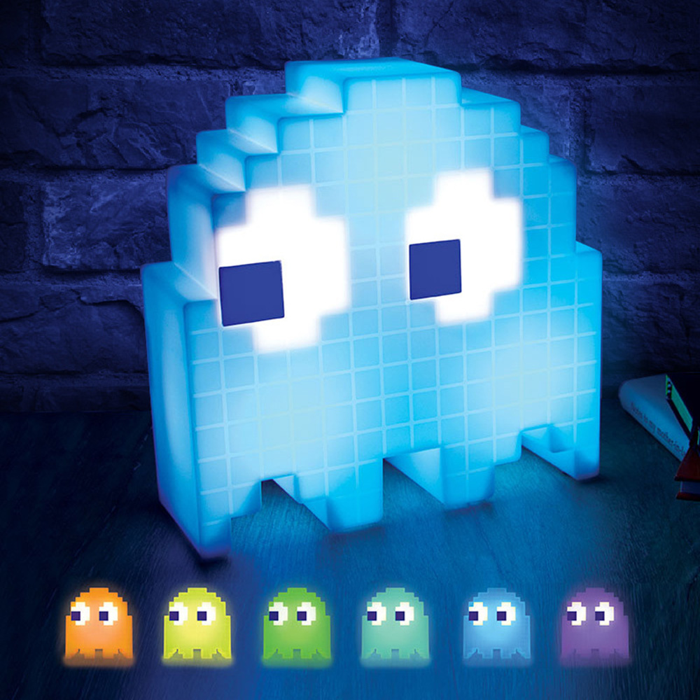 Pac Man Game Theme LED Night Light Multicolor USB Rechargeable Cartoon Night Lamps For Children Kids Room Decoration LightingPac Man Game Theme LED Night Light Multicolor USB Rechargeable Cartoon Night Lamps For Children Kids Room Decoration Lighting