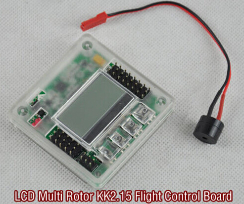 kk2 15 mini kk 2 15 flight controller with case shell lcd multirotor flight  control board quadcopter kk2 6050mpu 644pa kk2 1 kk2-in parts & accessories  from