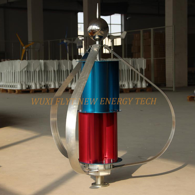 US $195 0 |Vertical Wind Turbine Generator 100w/200w Wind Mill free energy  generator 12v 24v cheap generator Helix wind power turbine-in Alternative