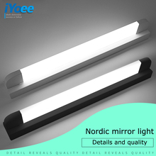 Modern Bathroom LED Vanity light Wall lamp indoor bedroom Black White Decoration Mural mirror Lighting Wall Lamp sconce fixtures