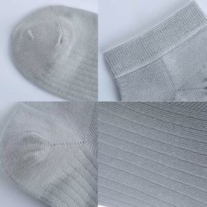 Image 5 - 5pairs youpin 365WEAR Spring and summer breathable antibacterial male socks soft comfrotable Silver ion antibacterial new
