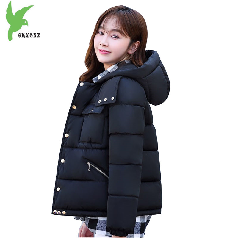 New Winter Women Jacket Down Cotton Parkas Hooded Camouflage Coat Men Women Lovers Clothing Plus Size Bread Outerwear OKXGNZ1079 2016 new high quality brand men winter cotton down jacket coat parka clothing men and women hooded warm outerwear overcoat