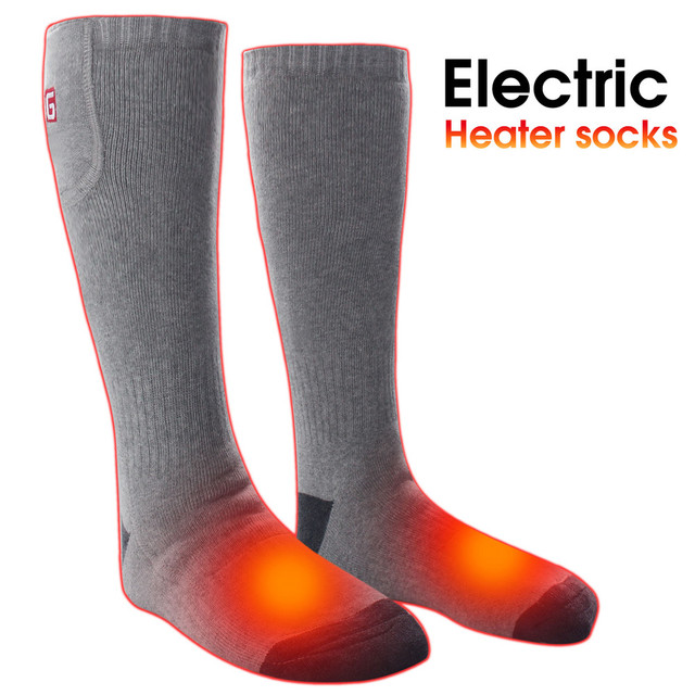 US $26 67 16% OFF grey black color women men 2 4V battery heated socks-in  Smart Accessories from Consumer Electronics on Aliexpress com   Alibaba