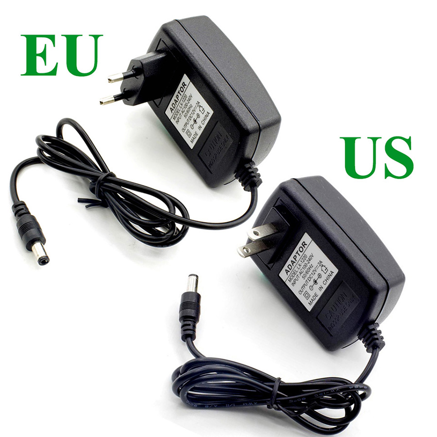 DC 5V 3A 15W LED Power Adapter Supply Switch Charger AC 100~240V Adapter EU Plug US Plug For Led Light Strip SMD 5050 2835 4 port 500ma usb power adapter charger 100 240v us plug