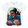 Metal jogo Aposta T camisa do Crânio Do Punk Rock Estilo Hip Hop novo Design Original T-shirt Legal de Moda Homem mulheres camiseta de Cor 3d impressão