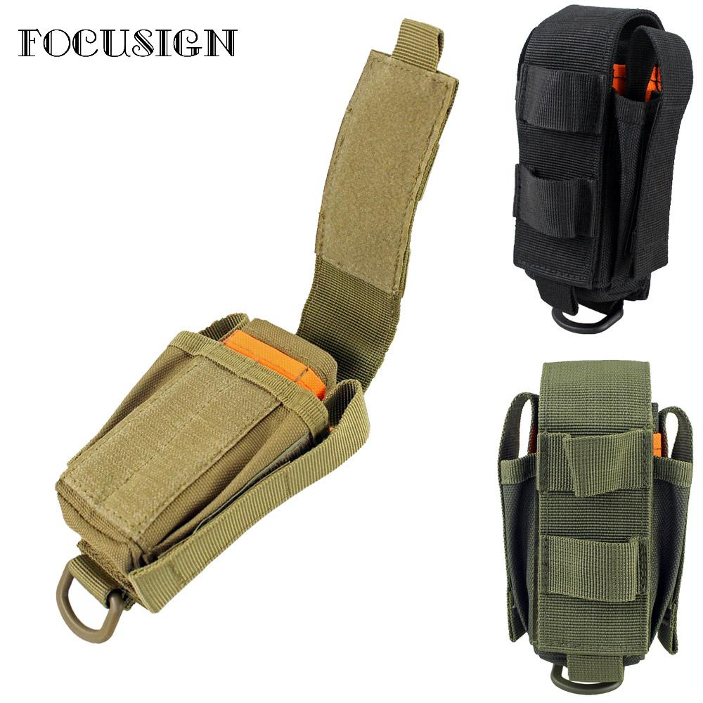 1pcs Tactical pouch Multi Tool Organizer EDC Tool Pouch nylon flashlight pencils pliers Multiple Pocket Holder Holster Flap bag