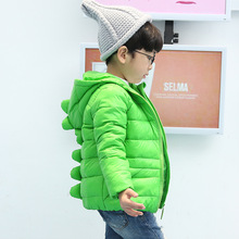 Winter Coat Jacket for Kids Boys Girls Down Jacket Coat Children 's Dinosaurs Coat Children's Winter Jackets Outerwear for 2-7Y