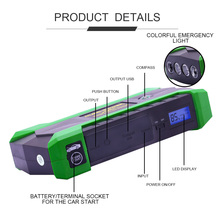 JKCOVER Jump Starter 12V Portable Starter Power Bank 800A Car Charger Car Battery Booster Buster Diesel Petrol Starting Device