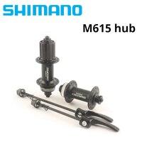Shimano DEORE M615 hub + RT54 / TX505 hubs + RT20 32H Bike hub MTB Mountain Bicycle Disc Brake Parts Center Lock Hubs & rotors