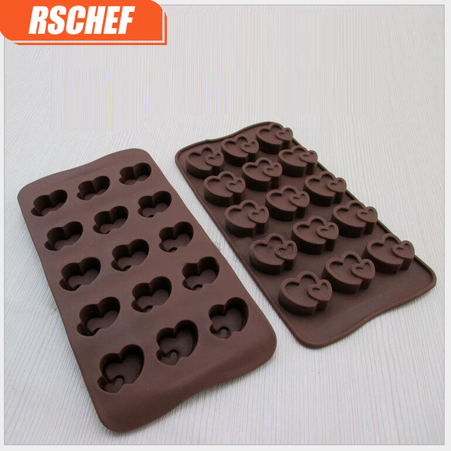 1pcs Food grade silicone multi style chocolate mold mini fondant