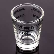 Measuring Shot Glass with Scale