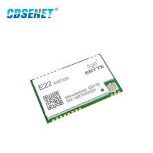 E22-400T22S SX1268 UART LoRa Net Working RSSI Wireless Transceiver 22dBm 433MHz SMD IPEX Stamp Hole Module Receiver