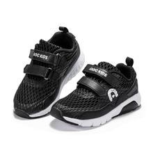 Abckids 2019 verano negro color sólido vintage niños cómodos correr deportes Zapatos Niño deportes zapatillas