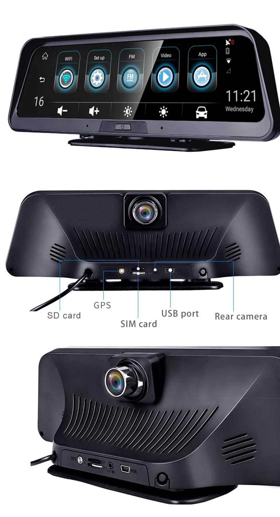Многофункциональный видеорегистратор ANSTAR E98 в Балашихе