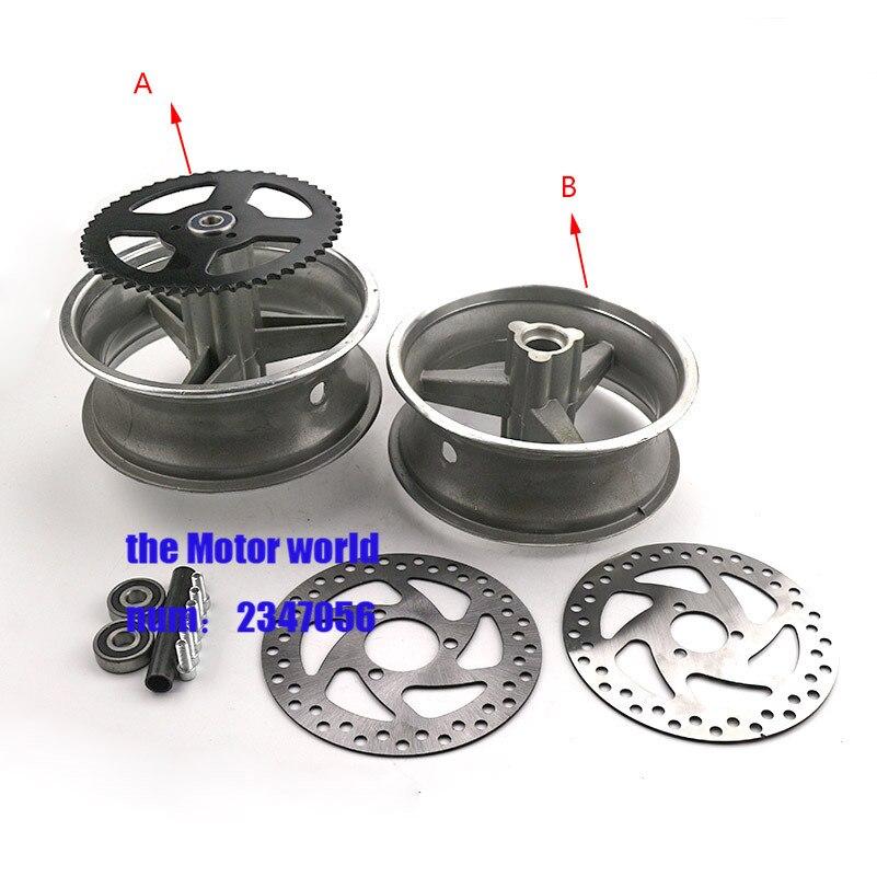 Liberal Aluminium Rad 110/50-6,5 Und 90/65-6,5 Vorne Und Hinten Hub Für Pocket Bike 47cc 49cc Mini Bike Automobile & Motorräder