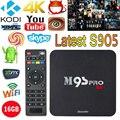 M9S-PRO Smart Android TV Box 4K 2GB Ram 16GB Rom Amlogic S905 Quad Core XBMC WiFi Mini PC H.265 DLNA Miracast HD Media Player