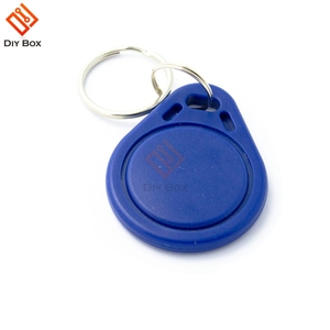 10PCS RFID Sensor Proximity IC Key Tags Keyfobs Token NFC TAG Keychain 13.56MHz for Access Control Attendance For Arduino