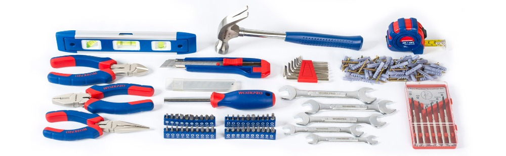 WORKPRO 170PC Household Tool Set