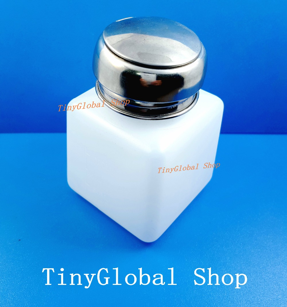 100ML Component bottle pot with push button for spirit