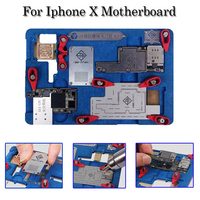 Explosion Proof Cooling Tin Multi Functional Platform PCB Holder For IPhone X Motherboard A11 IC Chip