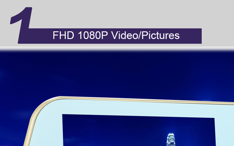 E-ACE Car Dvr Rearview Camera Mirror Auto Dashcam Video Recorder Automobile Full HD1080P Camcorder Dual Camera Lens Registrator 9