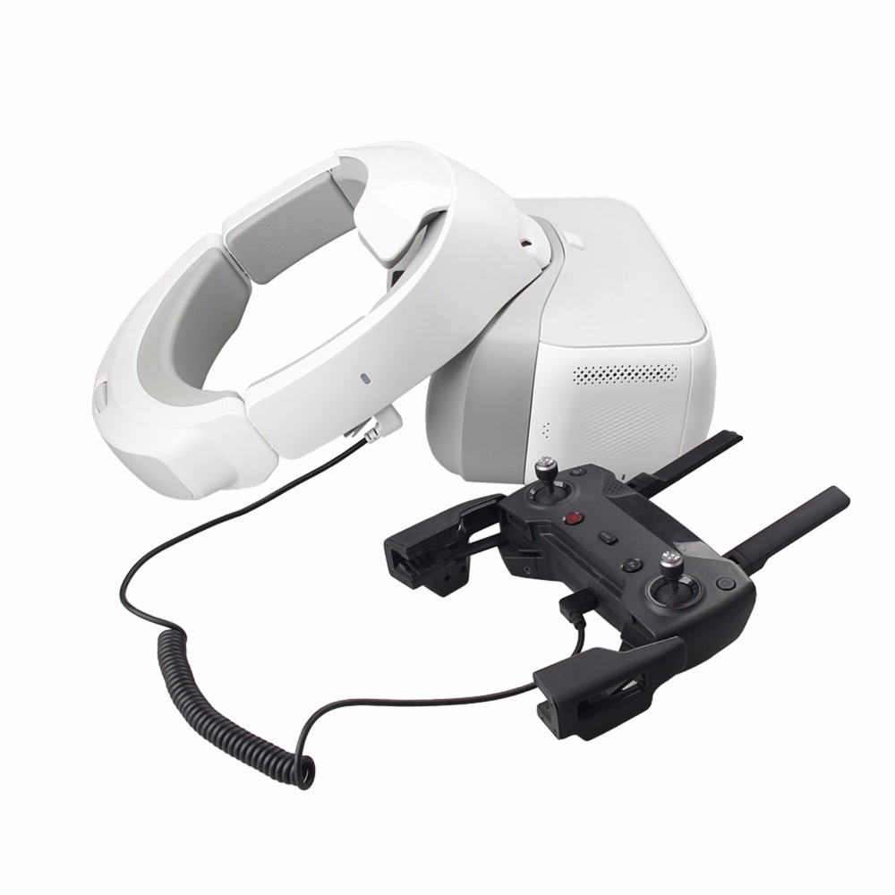 For DJI Spark Drone Transmitter/Controller Micro USB data cable to for DJI Goggles FPV VR Glasses Spring Wire