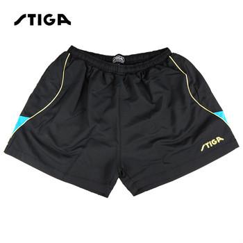 STIGA mężczyźni tenis stołowy szorty szybkie pranie spodenki sportowe ping pong odzież Sport koszulki z krótkim rękawem dla mężczyzn tanie i dobre opinie Pasuje prawda na wymiar weź swój normalny rozmiar