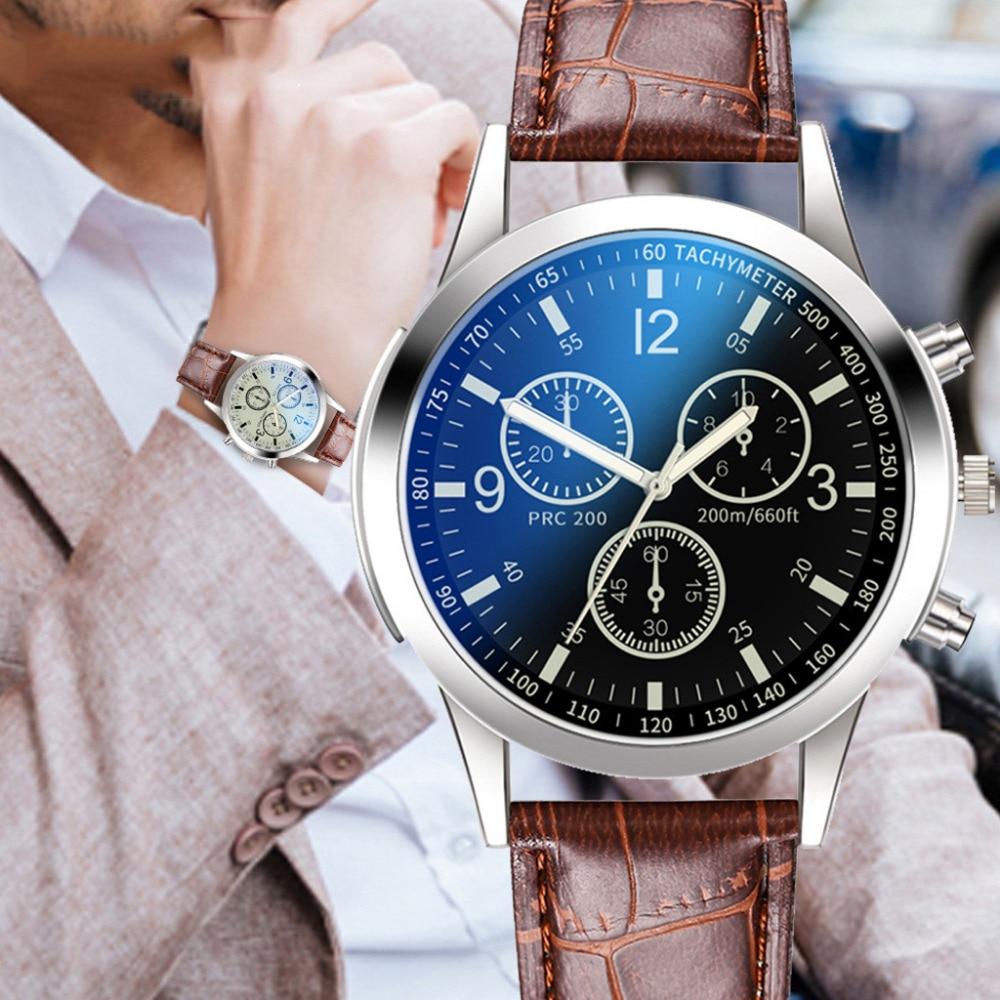 Men's Watches Business Male Clock Quartz Wrist Watch Luxury Watches Hommes Montre Homme Fashion New Analog Reloj Hombre Time