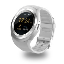 Bluetooth black sliver DLY1 round Smart Watch Support Nano SIM Card and TF Card Wearable Device with Track Step MTK6261D умные часы smart watch y1