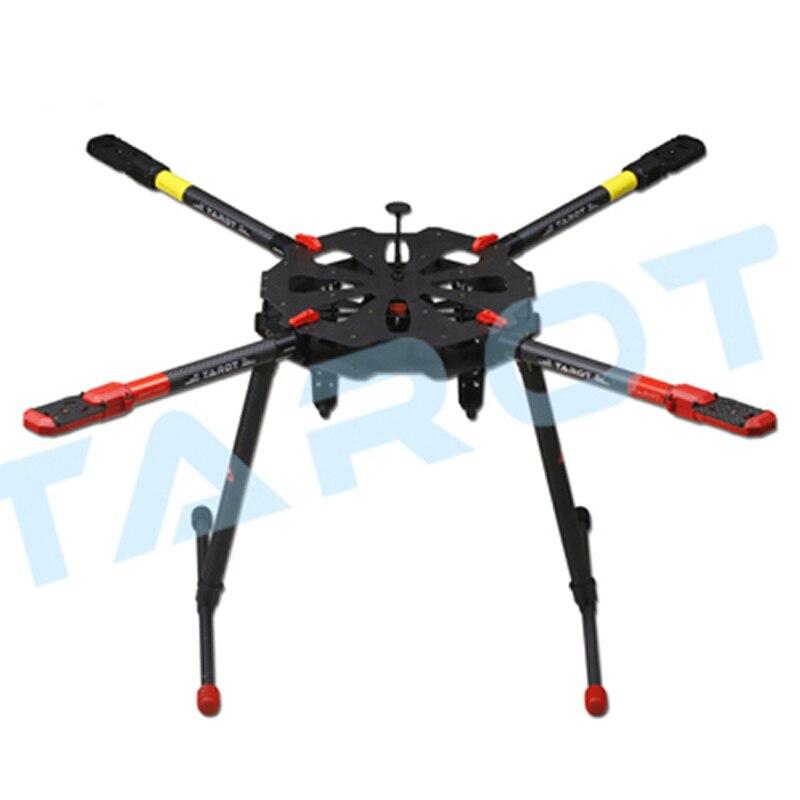 Quadcopter rahmen Tarot X4 Klapp Carbon Kit X6 Hexacopter rahmen ...