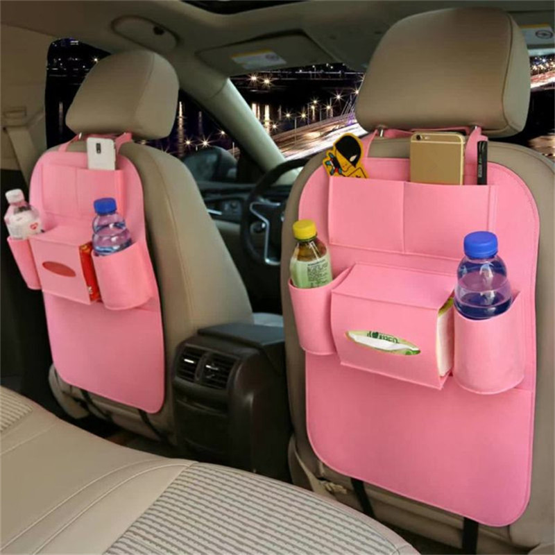 1PC Car seat back protector cover for children kick mat protects storage ba OD