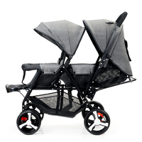 twin strollers front rear pram double seat stroller big and small baby stroller pram second baby twin stroller