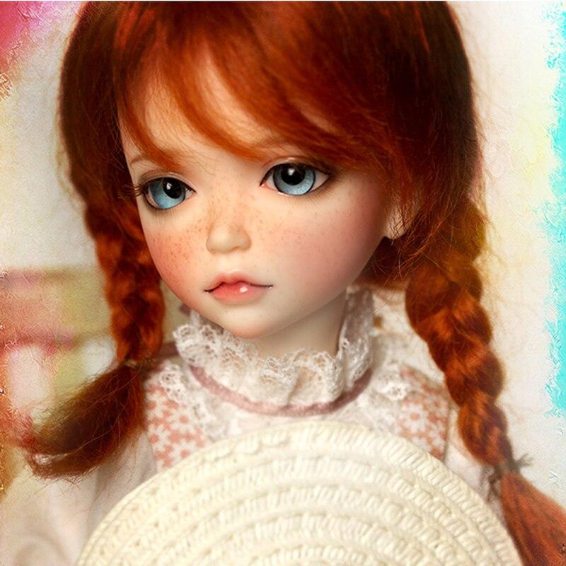 1/6 muñeca BJD Lonnie de moda con Fleckles encantadora muñeca para regalo de cumpleaños de niña bebé envío gratis-in Muñecas from Juguetes y pasatiempos    3