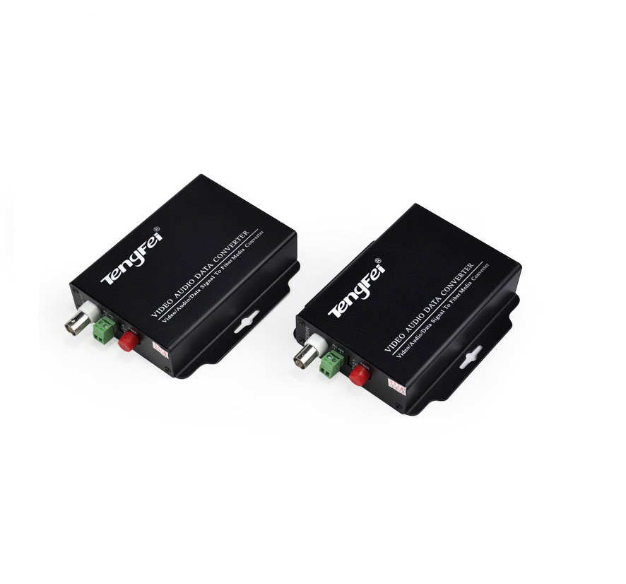 1 Channel Video Single Transmitter With 20 KM Distance  FC Optical Transceiver Application Home Neet Working Automation