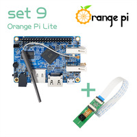 Orange Pi Lite SET9: Orange Pi Lite 512MB and 2Million Pixel Camera with wide-angle lens, A development board
