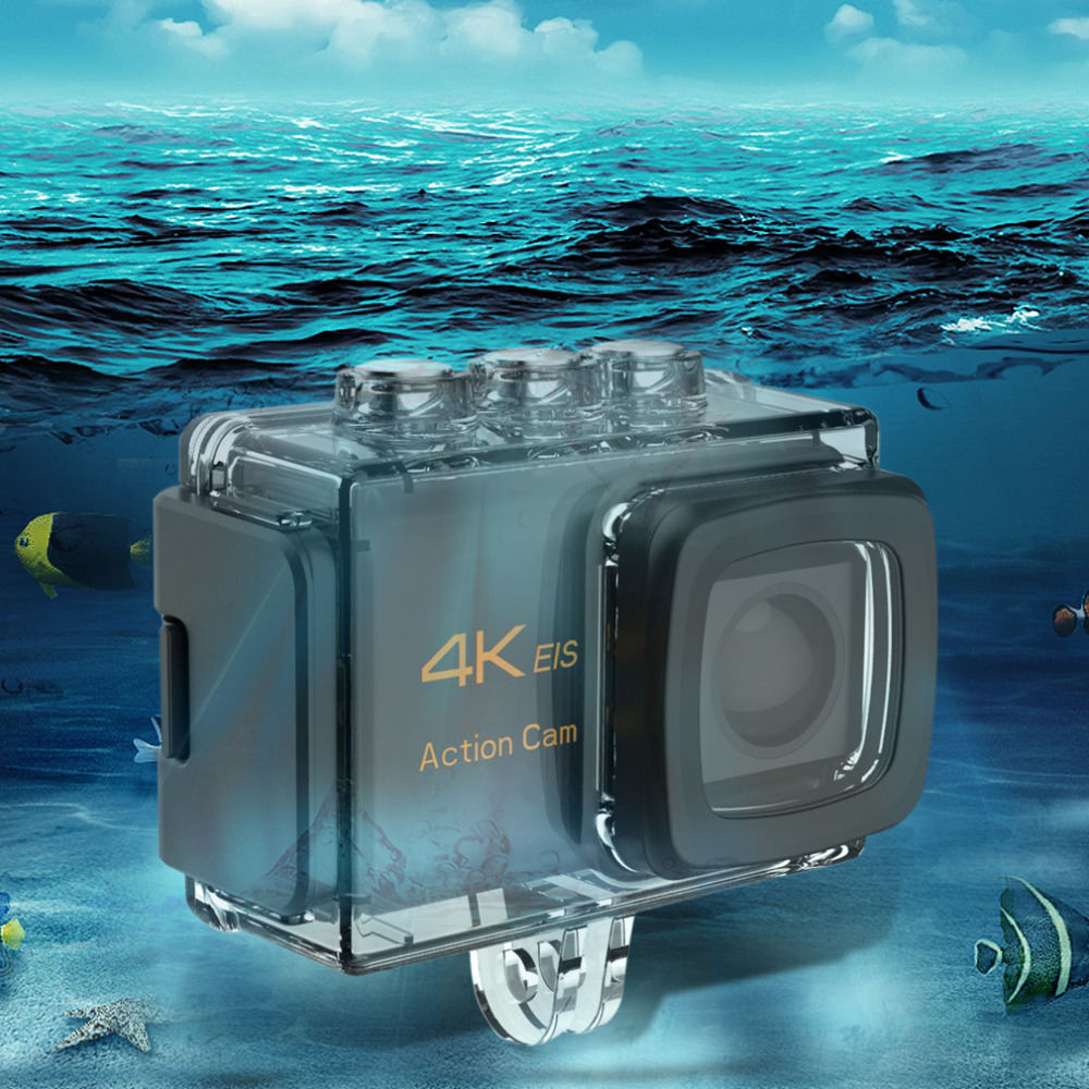 цена на Ultra Anti-shake Digital Camera 30M Waterproof WiFi Sports DV 2-Inch Screen Camcorder 170-Degree Wide Angle Car Camera