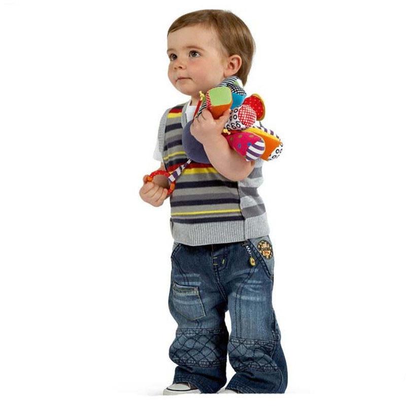 Baby Rattle ութոտնուկի խաղալիքների - Խաղալիքներ նորածինների համար - Լուսանկար 3
