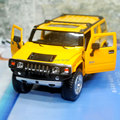 Brand New KINGSMART 1/32 Scale USA 2008 Hummer H2 SUV Diecast Metal Pull Back Car Model Toy For Gift/Collection/Children