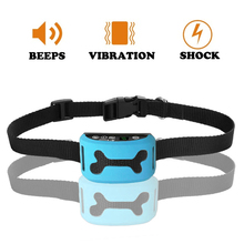 Anti Bark No Barking Collar Vibration Electric Shock Sound Automatic Collar For Pet Dogs IP7 Waterproof Dog Training Collar цена