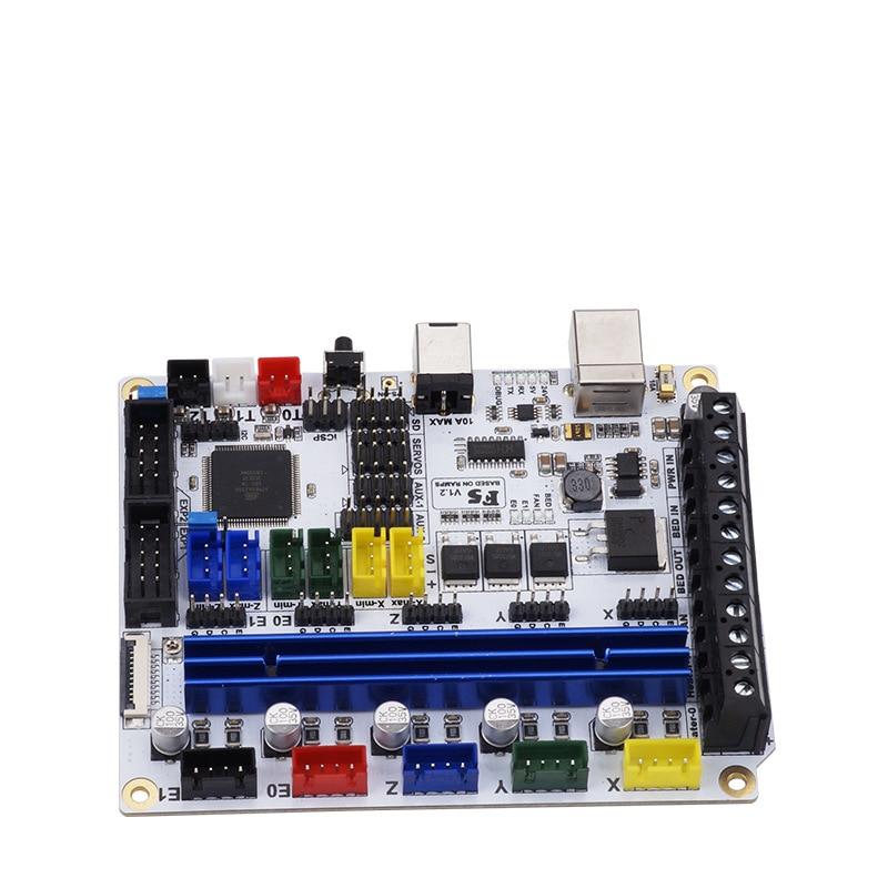 3d printer parts F5 V1.2 controll mainboard Based on ATMEGA2560 motherboard Replace MKS BASE 1.4 & Ramps 1.4 Controller Board f5 v1 2 control board based on atmega 2560 replace mks base 1 4