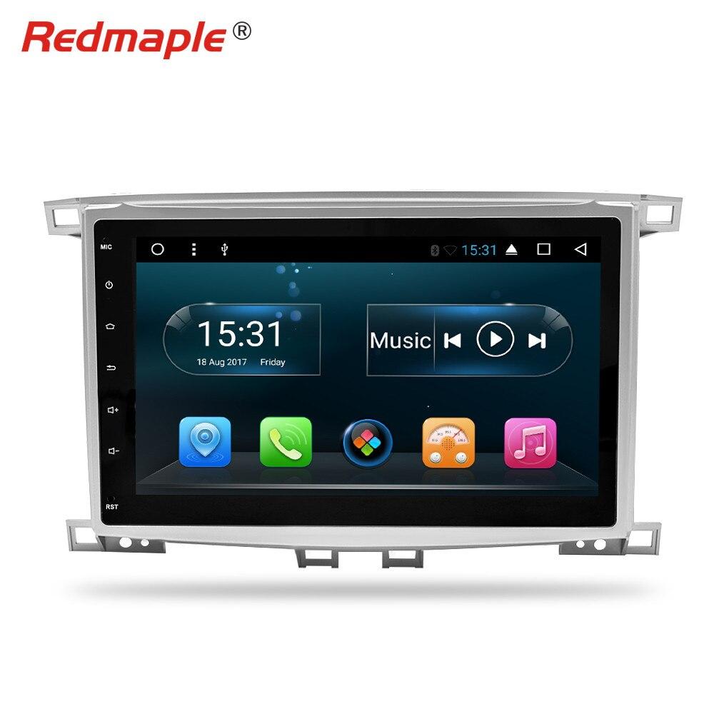 10.1 Octa base Android 8.1Car Radio GPS Navigation Multimédia Stéréo Pour Toyota Land Cruiser100/LC100 Lexus LX470 1997 -2004