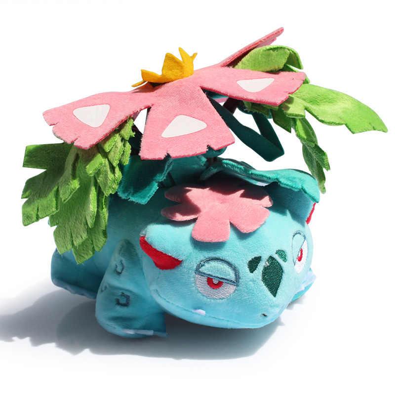 Hot Sale 16 CENTÍMETROS Anime Mega Venusaur Maravilhoso sapo de Brinquedo de Pelúcia Brinquedos de Pelúcia Bonecos De Pelúcia Macia Bom Presente Para As Crianças
