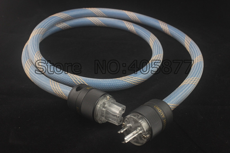 1.5M Siltech SPX-28 AC Power Cable US Mains Power Cable Hifi AC Power cord Cable