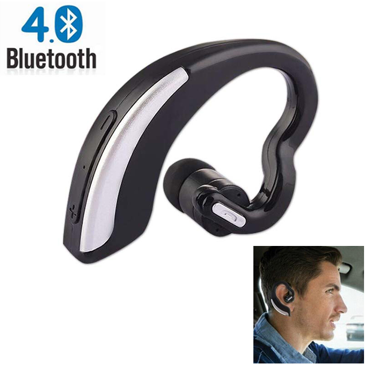 Universal Wireless Bluetooth 4.0+EDR Headset Headphone with Noise Cancellation HandsFree Stereo A2DP Earphone for iPhone Samsung high quality 2016 universal wireless bluetooth headset handsfree earphone for iphone samsung jun22