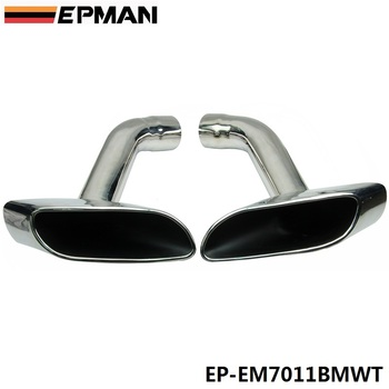 Chrome 304 Stainless Steel Exhaust Muffler Tip For BMW X6 E71 EP-EM7011BMWT image